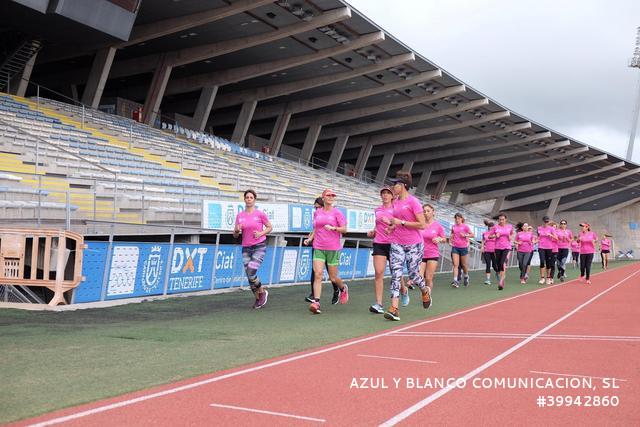 Running para mujeres en el CIAT