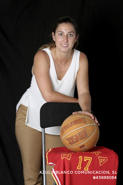 Leonor Rodríguez, jugadora de baloncesto