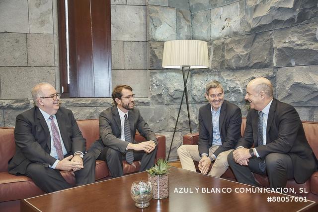 Encuentro entre la ZEC y Gobierno de Canarias